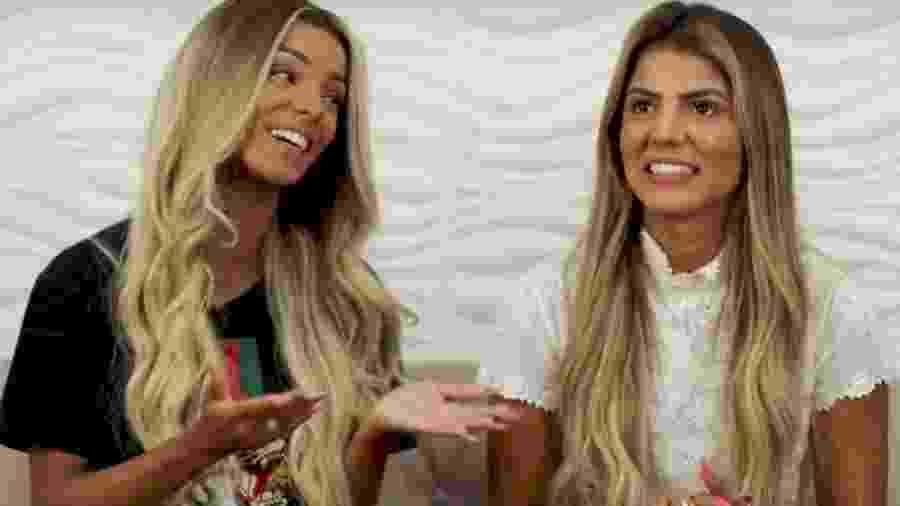 Brunna Gonçalves e Hariany Almeida - REPRODUÇÃO/YOUTUBE