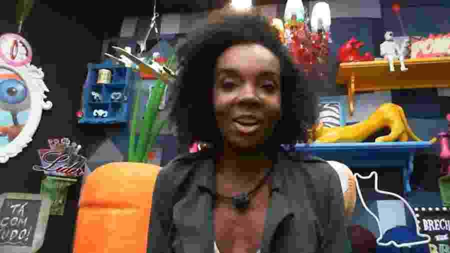 BBB 20 - Thelma no confessionário - Reprodução/Globoplay