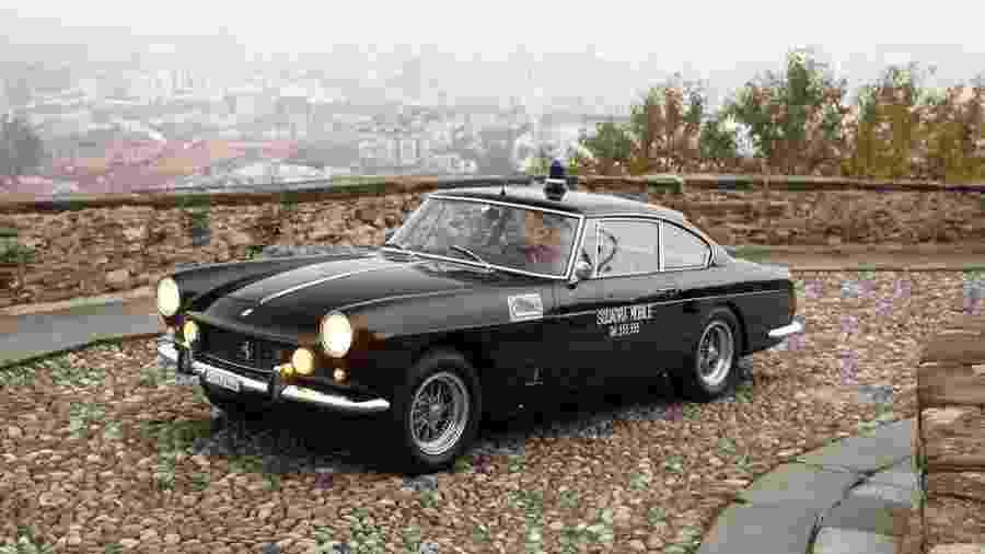 Ferrari 250GTE 1962 viatura policial - Divulgação