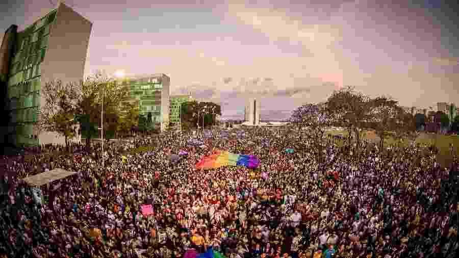 Pela primeira vez desde 1998 não haverá a Parada do Orgulho LGBTS de Brasília, por causa da pandemia - Divulgação