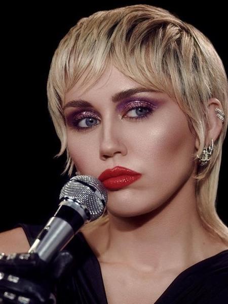 A cantora Miley Cyrus  - Reprodução/Instagram