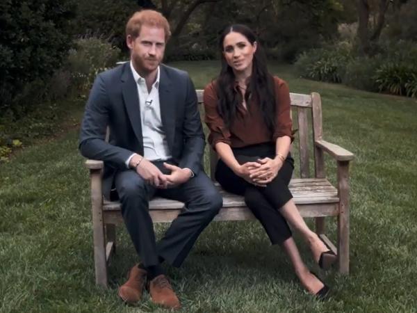 Meghan Markle e Príncipe Harry em entrevista polêmica que promete balançar Família Real