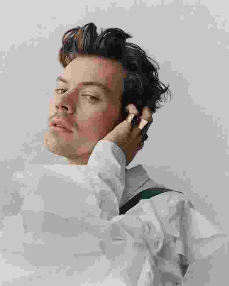 """Harry Styles em ensaio para o """"The Guardian"""" - Samuel Bradley/The Guardian - Samuel Bradley/The Guardian"""