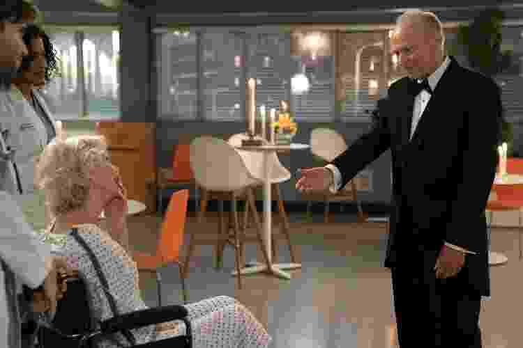 George Gerdes (à dir.) em uma de suas últimas atuações, em 'Grey's Anatomy' - ABC via Getty Images - ABC via Getty Images