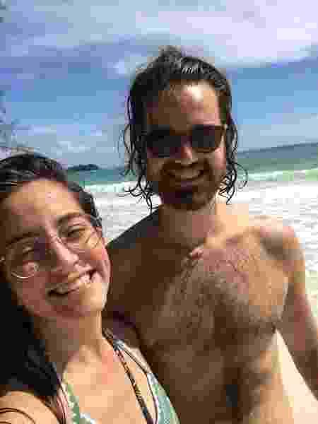 Isabella Venancio e Caio Torres, no Camboja - Arquivo pessoal - Arquivo pessoal