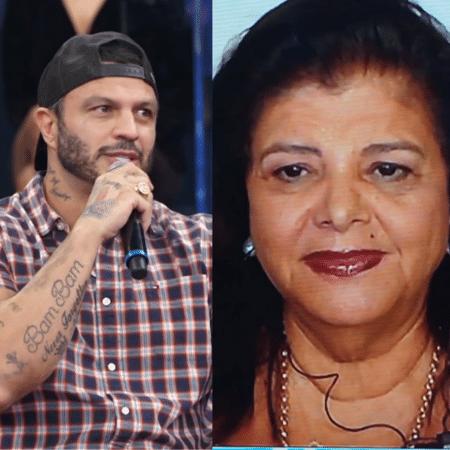 """Kleber Bambam e Luiza Trajano no """"Altas Horas"""" - Reprodução / Globo"""