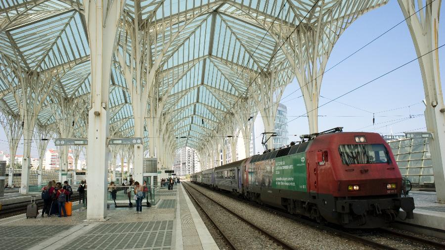 Gare do Oriente, em Lisboa (Portugal) - Peter Charlesworth/LightRocket via Getty Images