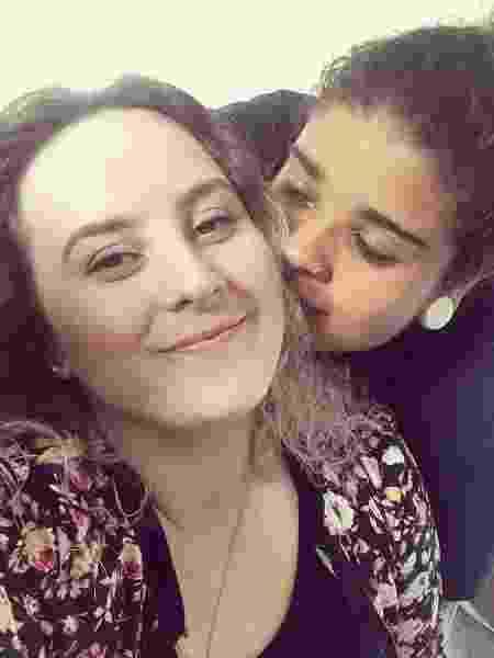 Izabela da Silva, lançadora de disco, e a namorada Gabriela estão juntas desde 2013 - Acervo pessoal - Acervo pessoal