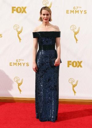 "A atriz Sarah Paulson, de ""American Horror Story"" - Getty Images"