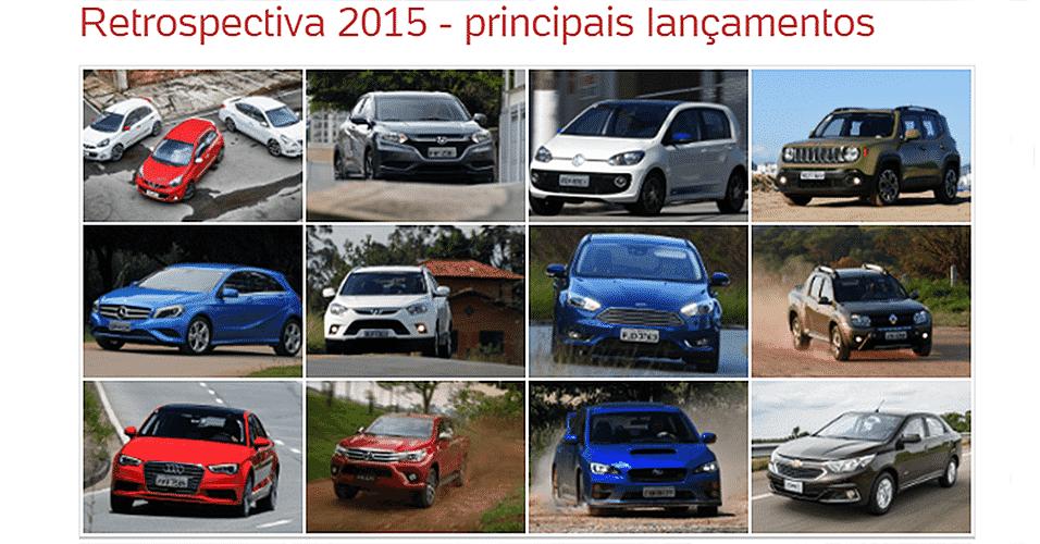 Retrospectiva 2015 lançamentos 956 - Arte UOL Carros