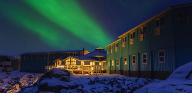 Aurora boreal ilumina o ceú na Groenlândia e em outros destinos gelados - Getty Images