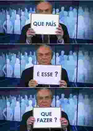 Reprodução/TV Globo Montagem/Gilvan Marques/UOL