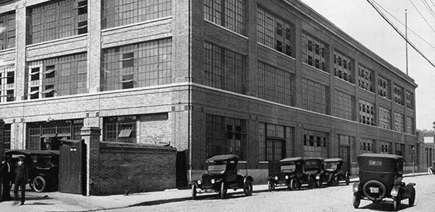 Fábrica da Ford em São Paulo (SP) 1921 - Ford Motor Company Archives - Ford Motor Company Archives