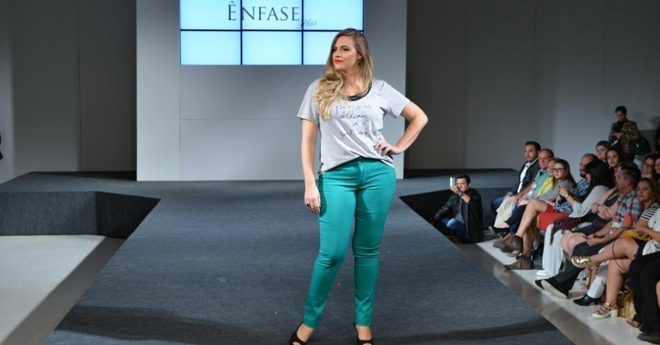 Fashion Weekend Plus Size verão 2017 - Ênfase