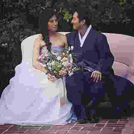 "Steven Yeun, o Gleen de ""The Walking Dead"", se casa com a fotógrafa Joana Pak - Reprodução/thepakpack"