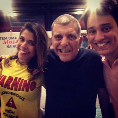 Jorge Fernando faz primeira aparição pública após sofrer AVC e prestigia peça da sobrinha, Maria Carol - Reprodução/Instagram