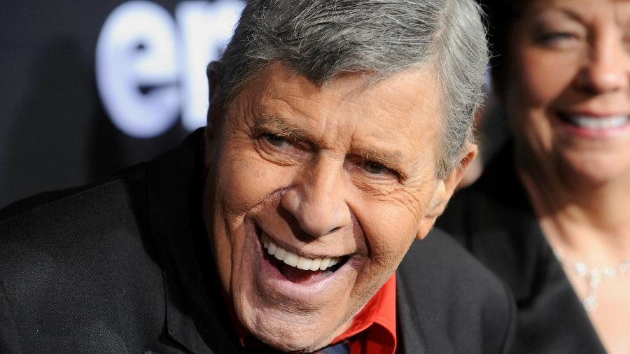 O comediante Jerry Lewis - Phil McCarten/Reuters