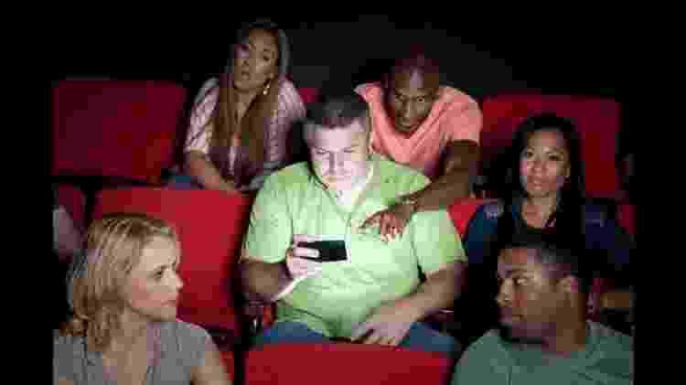Celular no cinema: não faça isso - Getty Images - Getty Images