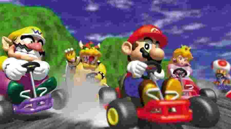 Curtia Mario Kart? Game terá uma versão gratuita para celulares - Reprodução