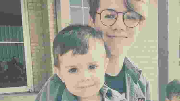 Egan e Louie - Reprodução/Facebook