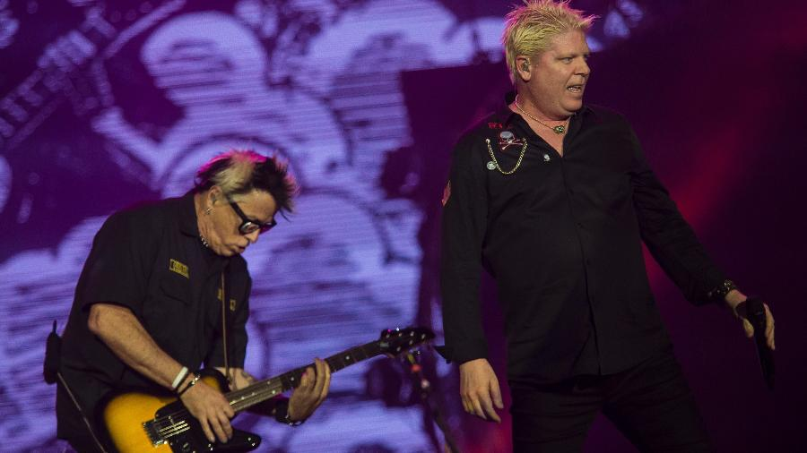 The Offspring durante show no Rock in Rio - Bruna Prado/UOL