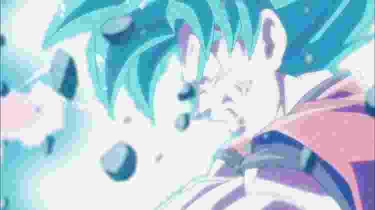 """A transformação em Super Saiyajin Blue se tornou apenas um dos recursos usados por Goku em """"Super"""": mais do que crescer em força, ele virou um guerreiro mais completo - Reprodução"""