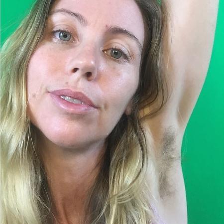 Leanne não depila mais nenhuma parte do corpo - Reprodução/Instagram