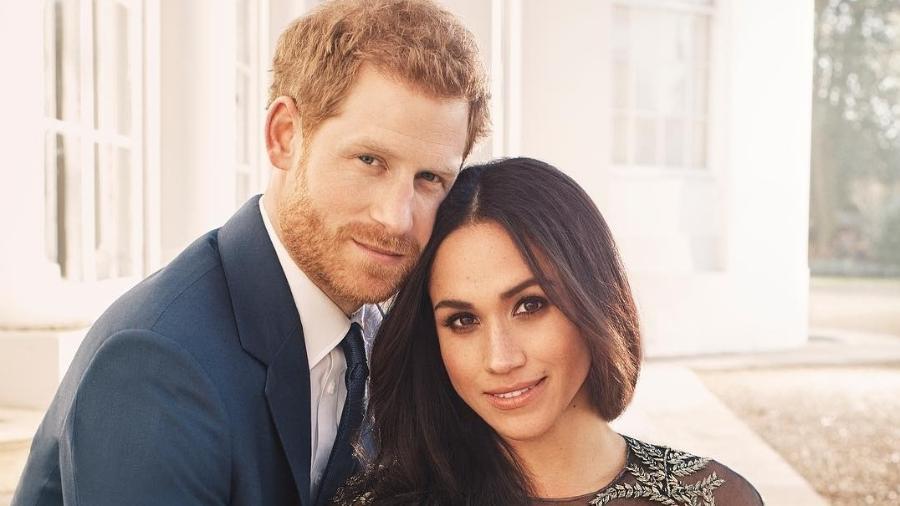 Príncipe Harry e Meghan Markle vão se casar no sábado (19) na Inglaterra - Reprodução/Instagram