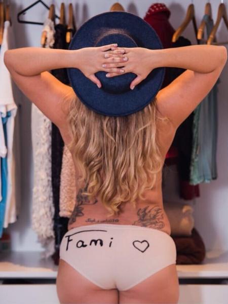 Fani Pacheco - Reprodução/Instagram