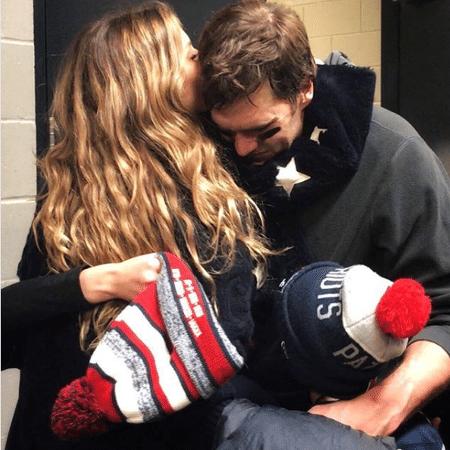 Gisele Bündchen consola o marido após derrota - Reprodução/Instagram/gisele
