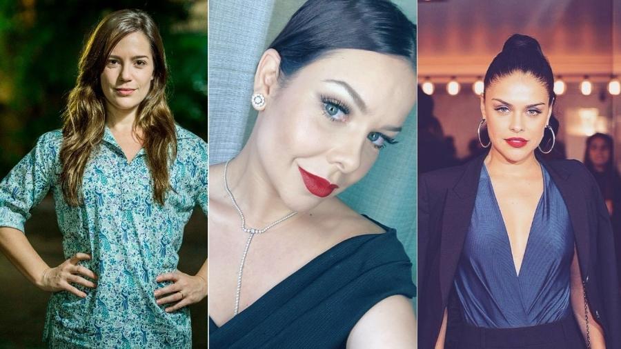 Natália Lage, Fernanda Souza e Paloma Bernardi saíram da Globo e carreira só decola - Reprodução