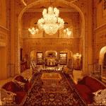 A diária do Maharajah's Pavillion custa aproximadamente US$ 19.200 - Divulgação/Raj Palace