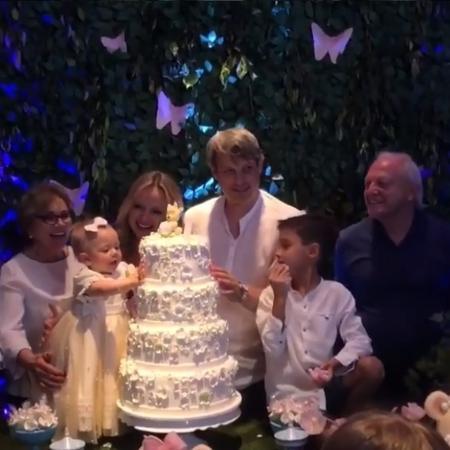 Eliana celebra aniversário de um ano da filha - Reprodução/Insatgram