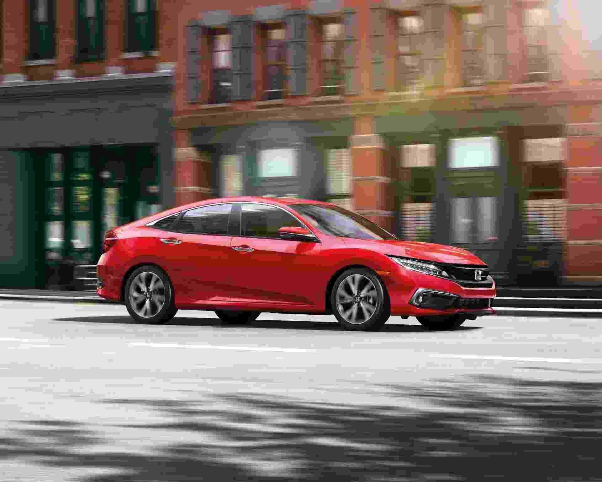 Honda Civic Sedan 2019 EUA - Divulgação