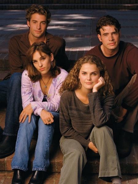 """Parte do elenco de """"Felicity"""" - Reprodução"""