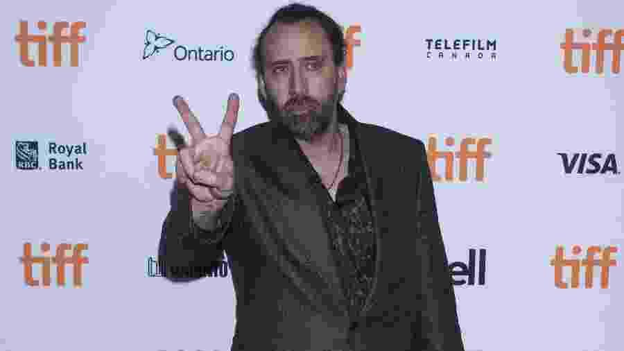 Nicolas Cage  - Zou Zheng/Xinhua
