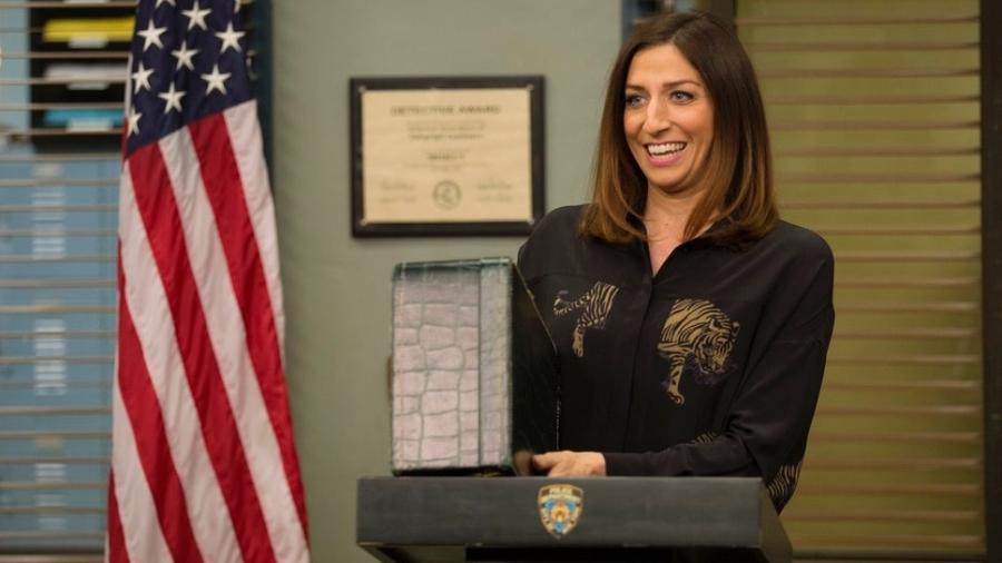 "Chelsea Peretti, a Gina Linetti de ""Brooklyn Nine-Nine"" - Fox"