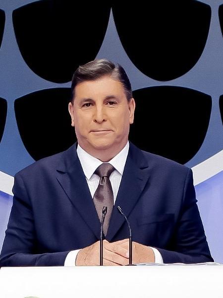 Carlos Nascimento vai comandar a transmissão da posse de Bolsonaro no SBT - Lourival Ribeiro/SBT