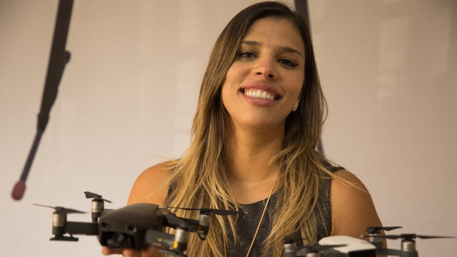 bcf0ed729 Ela fatura R  1 milhão no mercado de drones e quer mais mulheres na ...