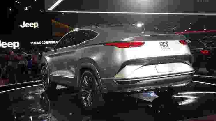 Fiat Fastback: traseira é a parte mais bonita do protótipo - Vitor Matsubara/UOL