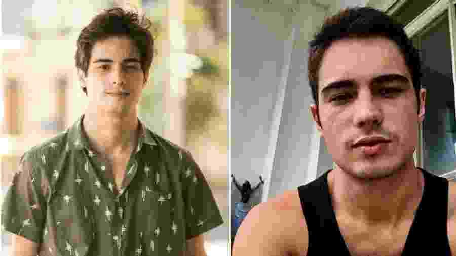 Danilo Mesquita antes e depois de mudar o visual - Reprodução/Instagram