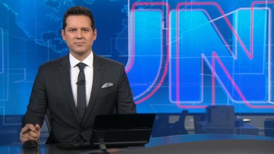 """Dony de Nuccio é promovido e faz estreia no """"JN"""" - Reprodução/TV Globo"""