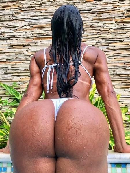 Gracyanne Barbosa dá close no bumbum em foto - Reprodução/Instagram