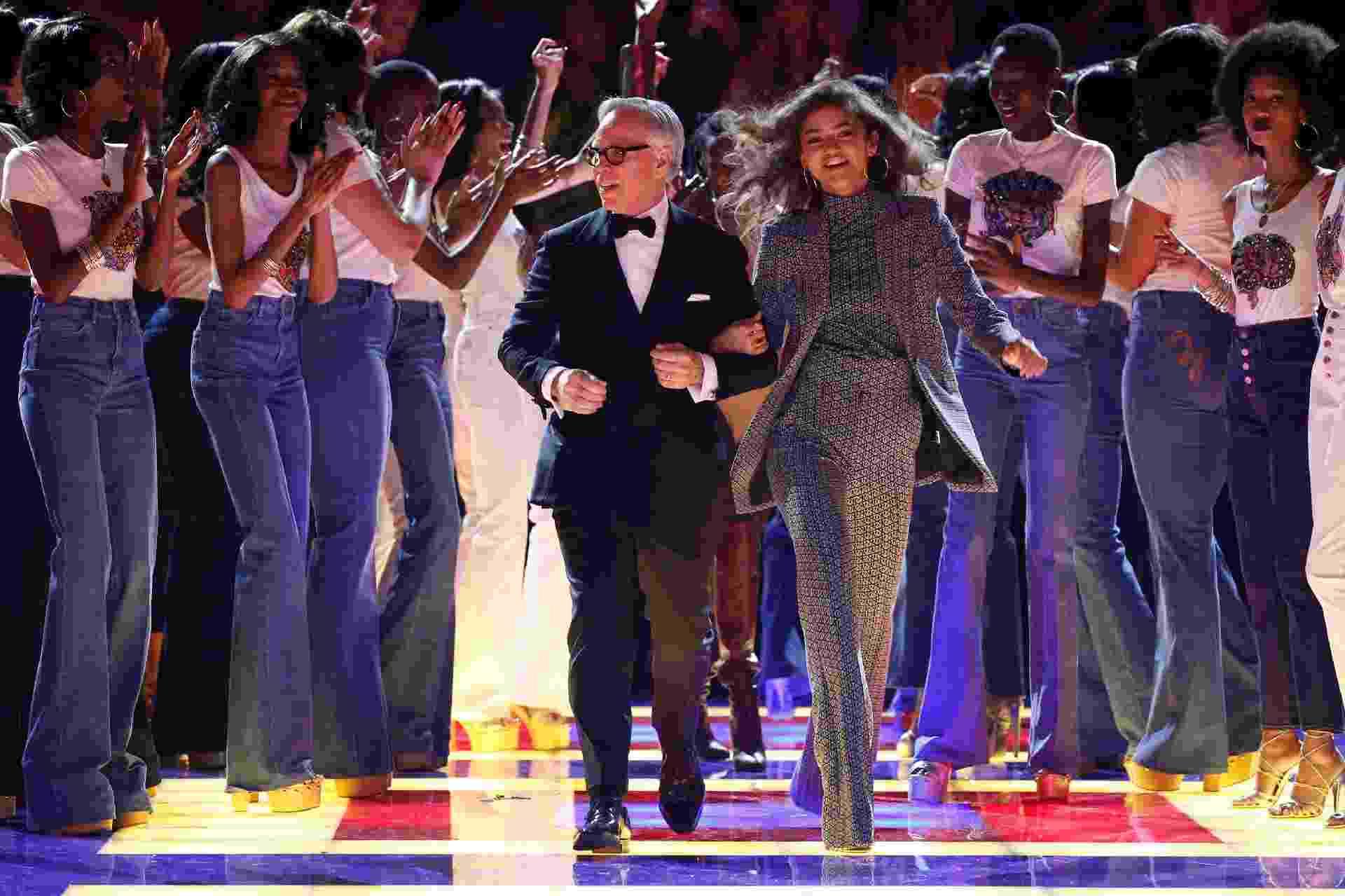 Tommy Hilfiger na Semana de Moda de Paris - Reuters