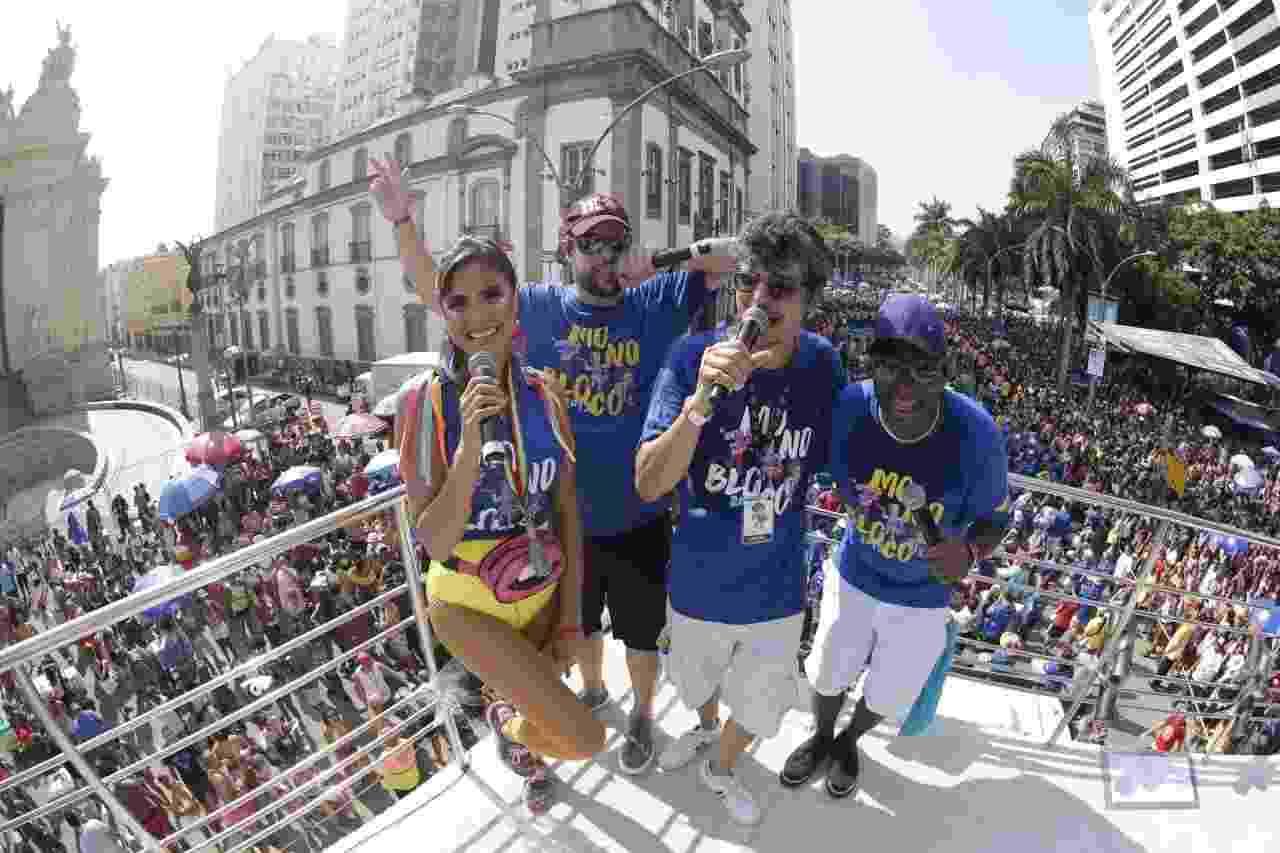 """Monobloco anima o domingo """"pós-Carnaval"""" no Rio de Janeiro - Marcelo de Jesus/UOL"""