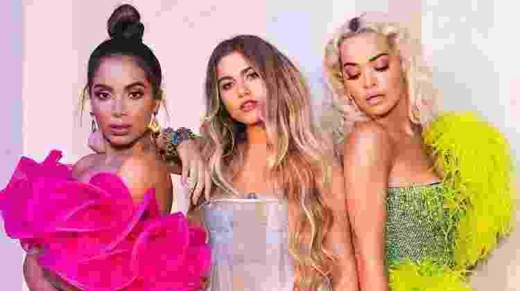 Anitta, Sofia Reyes e Rita Ora - Divulgação