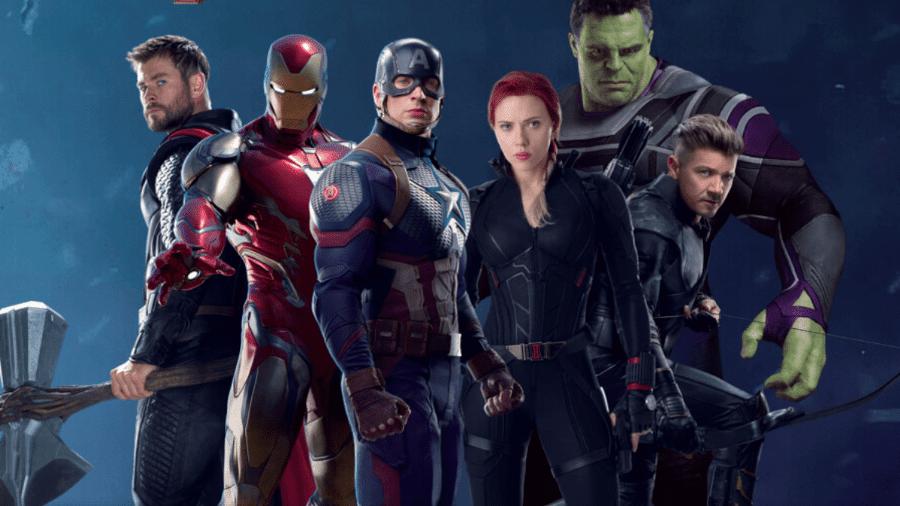 """Os seis Vingadores originais reunidos em arte de """"Ultimato"""" - Divulgação"""