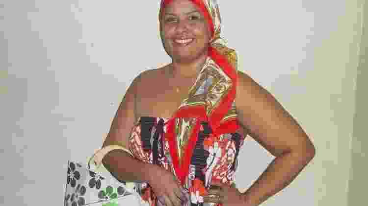 Gersianni Carvalho durante tratamento de câncer de mama - Arquivo Pessoal
