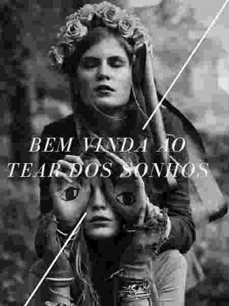Capa do material de divulgação compartilhado pelas participantes do Tear dos Sonhos, um dos nomes do golpe - Reprodução