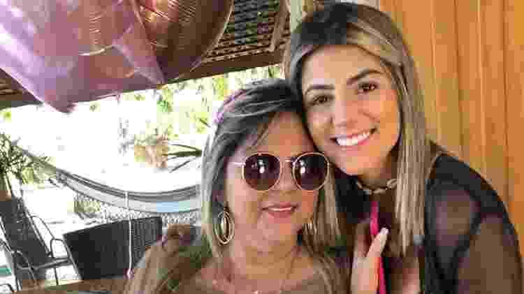 Mãe de Hariany Almeida diz que teve medo e angústia ao ver a filha ser vítima de assédio em A Fazenda 11 - Arquivo pessoal